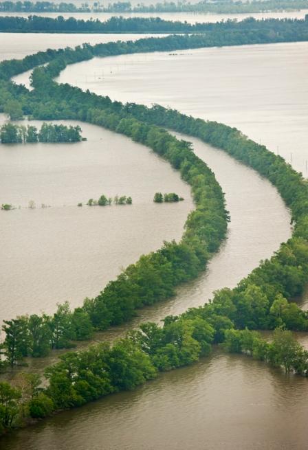 """May, 2011 Flood near the Missouri """"Bootheel"""""""