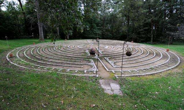 Labyrinth at Dominican Sisters of Sinsinawa Convent