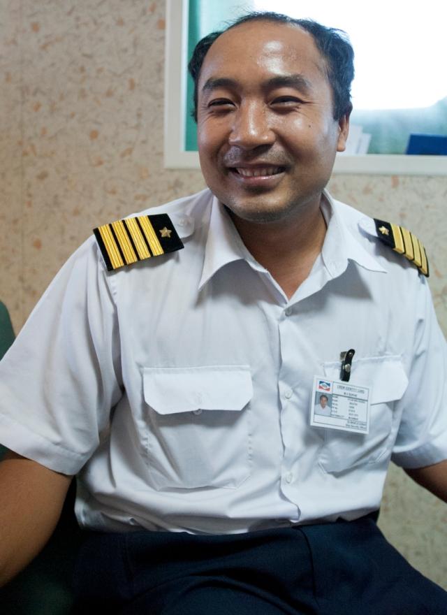 Captain of The Sophia
